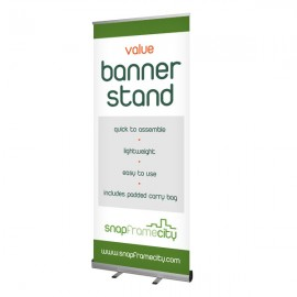 Value Pull-up Banner Stand