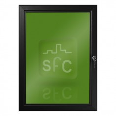 A4 Black Lockable Poster Frame