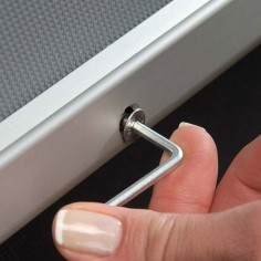 Allen Key for Lockable Snap Frames