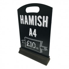 Hamish A4 Table Top Chalkboard